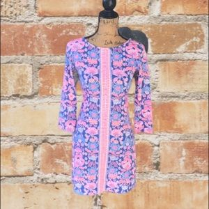 Lilly Pulitzer floral dress size XS
